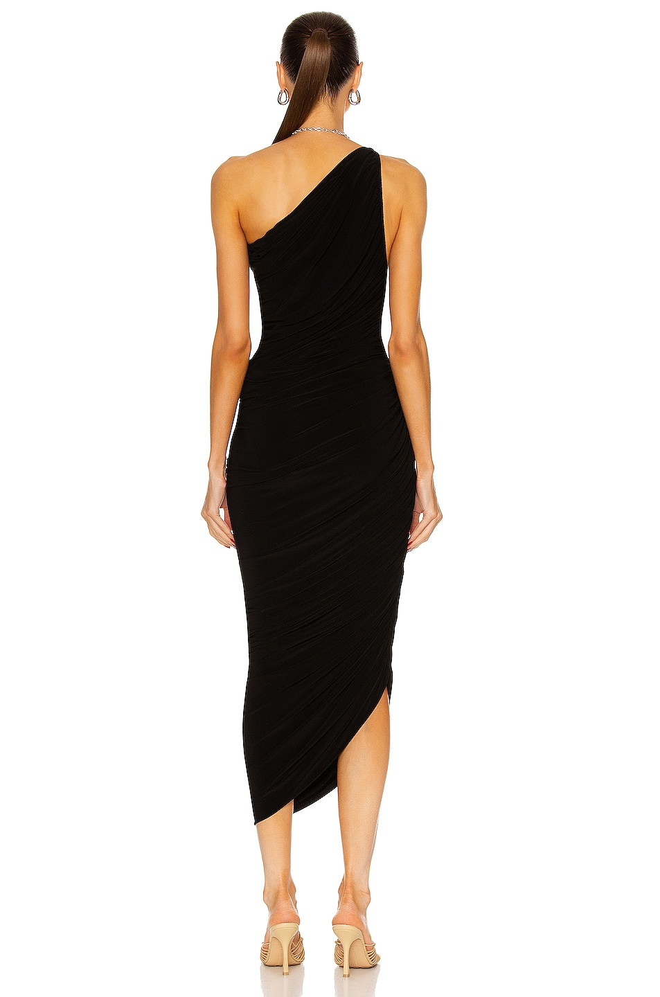 Image 4 of Norma Kamali Diana Gown in Black