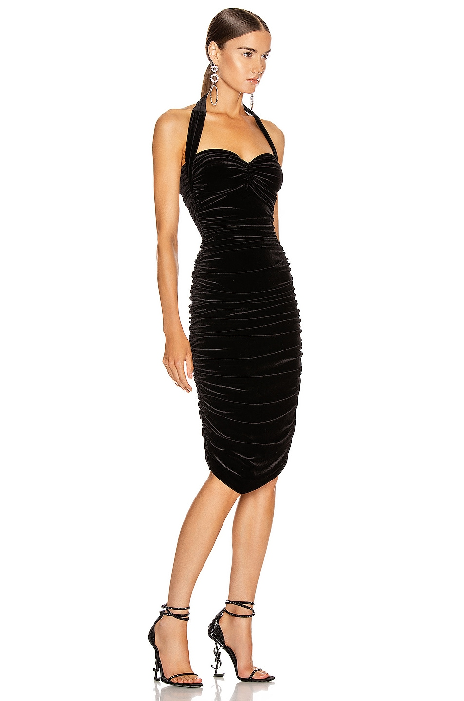 Image 2 of Norma Kamali Bill Dress in Black