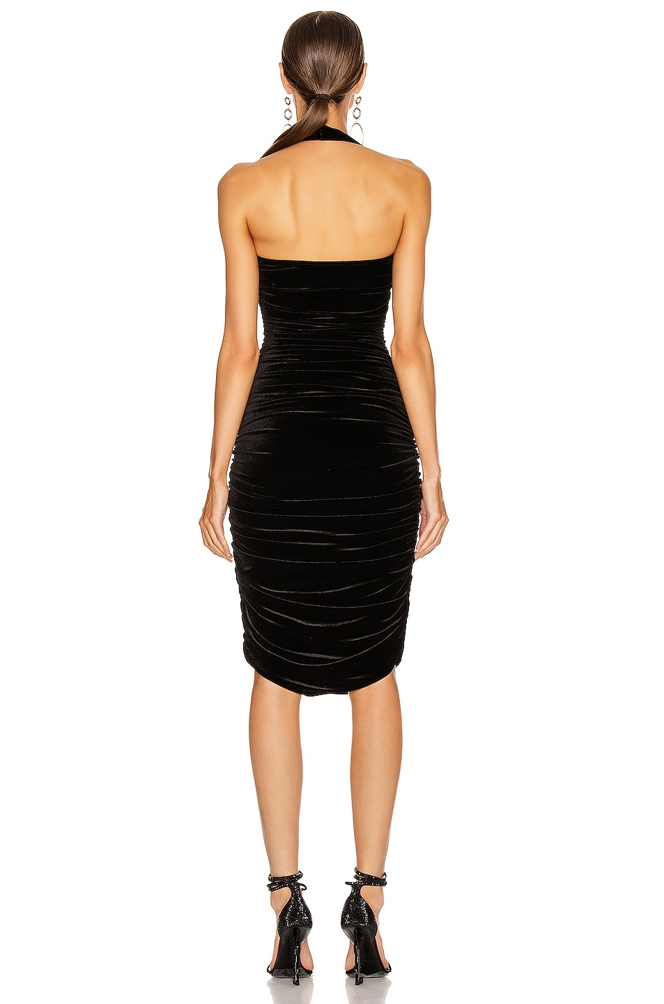Image 3 of Norma Kamali Bill Dress in Black