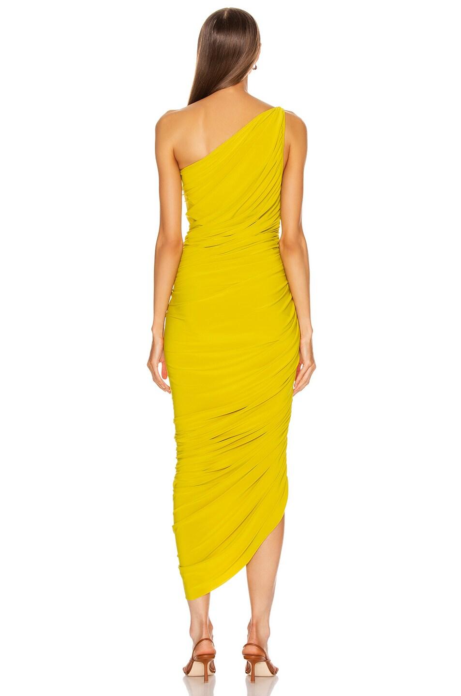 Image 4 of Norma Kamali Diana Dress in Citrus