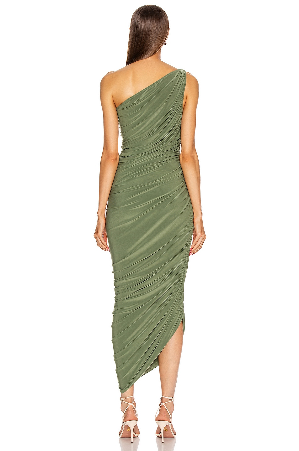 Image 4 of Norma Kamali Diana Gown in Celadon