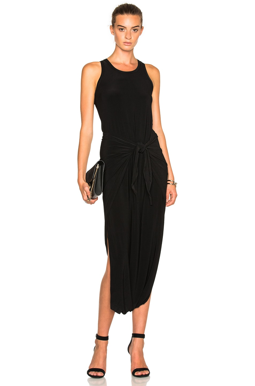 Image 1 of Norma Kamali Racier Diaper Dress in Black