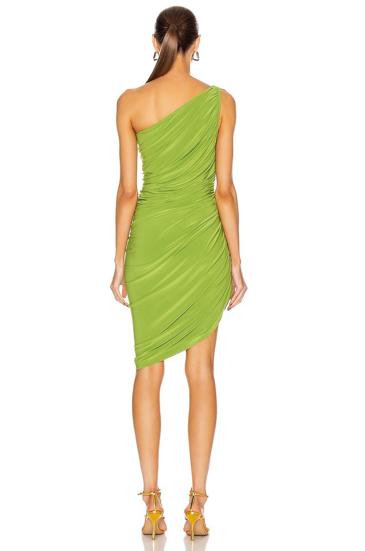 Image 4 of Norma Kamali for FWRD Diana Mini Dress in Matcha Green