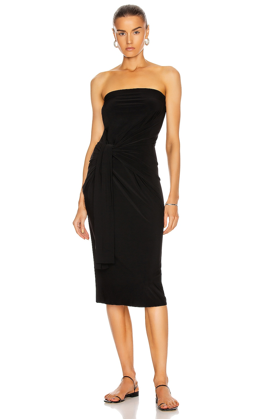 Image 1 of Norma Kamali All In One Dress in Black