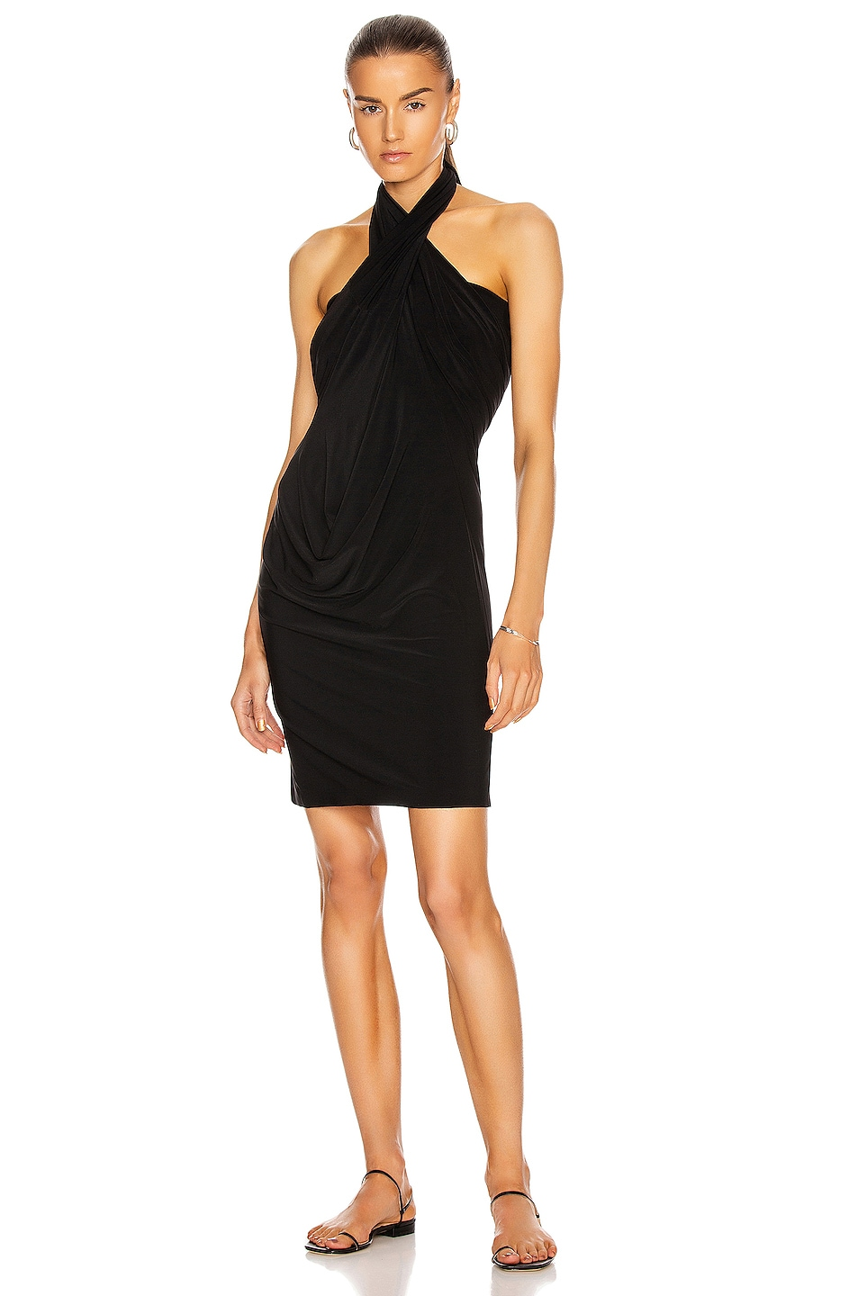 Image 3 of Norma Kamali All In One Dress in Black