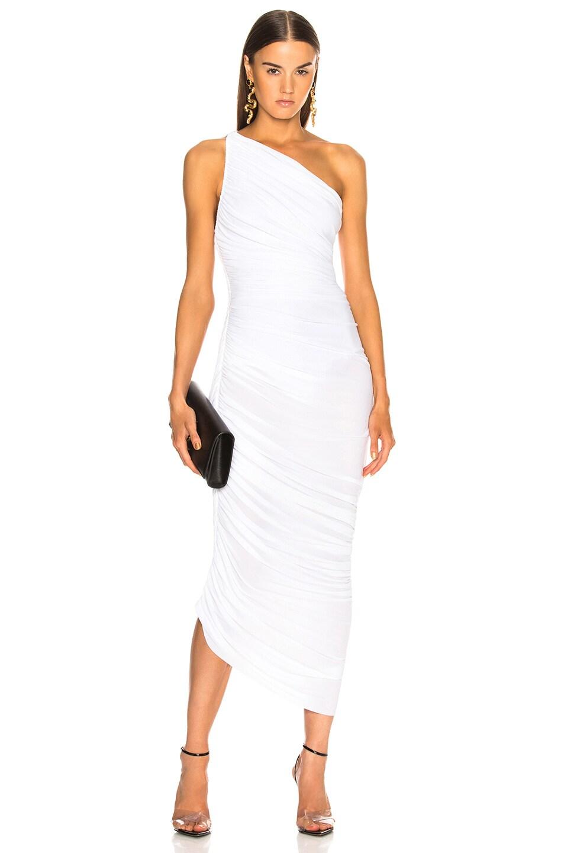 Image 1 of Norma Kamali Diana Dress in White