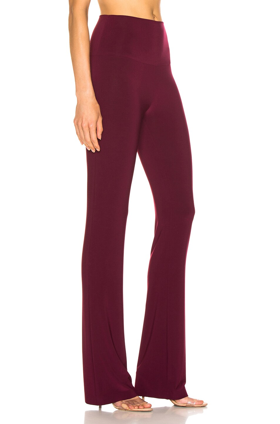 Image 2 of Norma Kamali Boot Pant in Plum