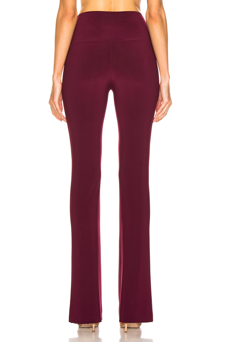 Image 3 of Norma Kamali Boot Pant in Plum