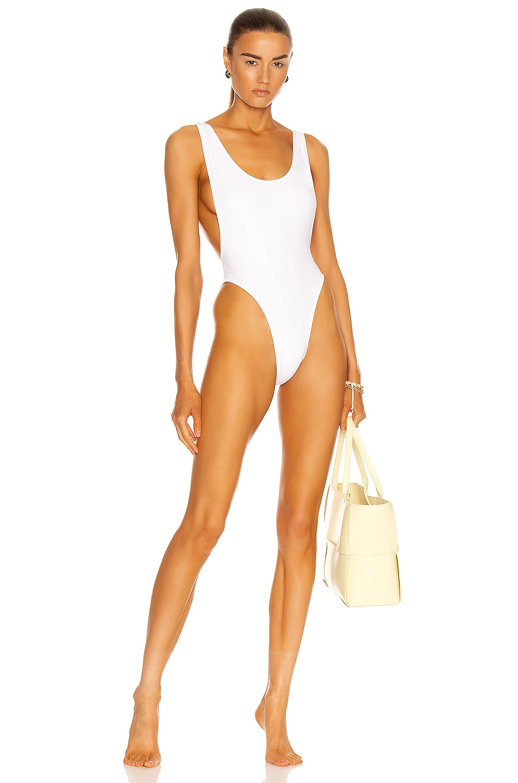 Image 1 of Norma Kamali Marissa Swimsuit in White