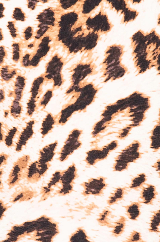 Image 6 of Norma Kamali Marissa Swimsuit in Caramel Leopard