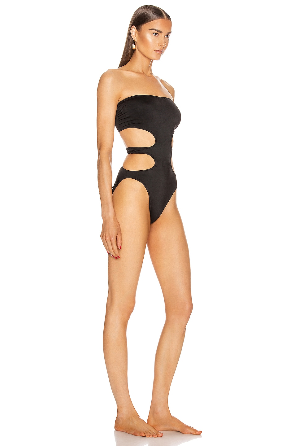 Image 2 of Norma Kamali 11/11 Mio One Piece in Black