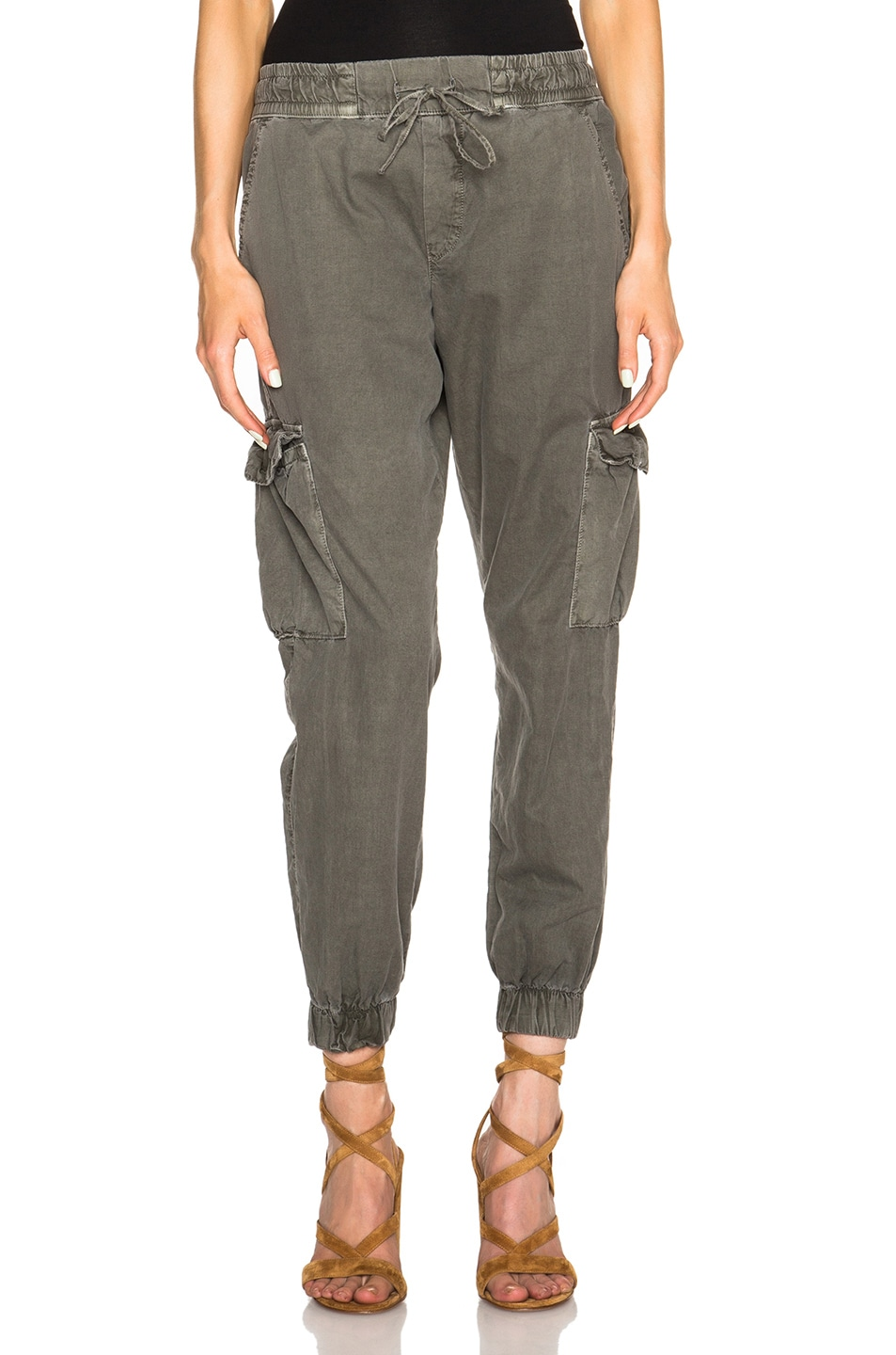 Image 1 of NSF Johnny Pants in Sulpher Army