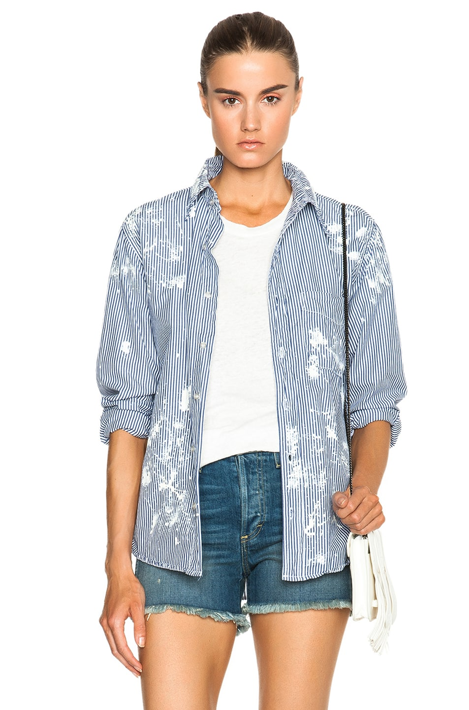 Image 1 of NSF Axel Button Up Top in Painter
