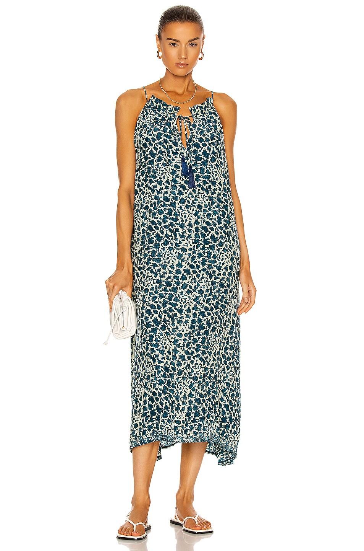 Image 1 of Natalie Martin Marlien Maxi Dress in Ivy Ocean
