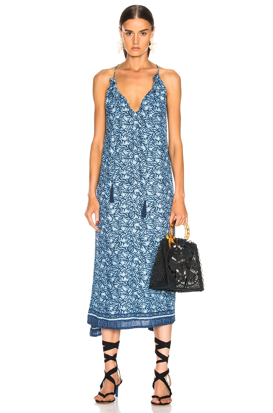 Image 1 of Natalie Martin Marlien Maxi in Blue Coral