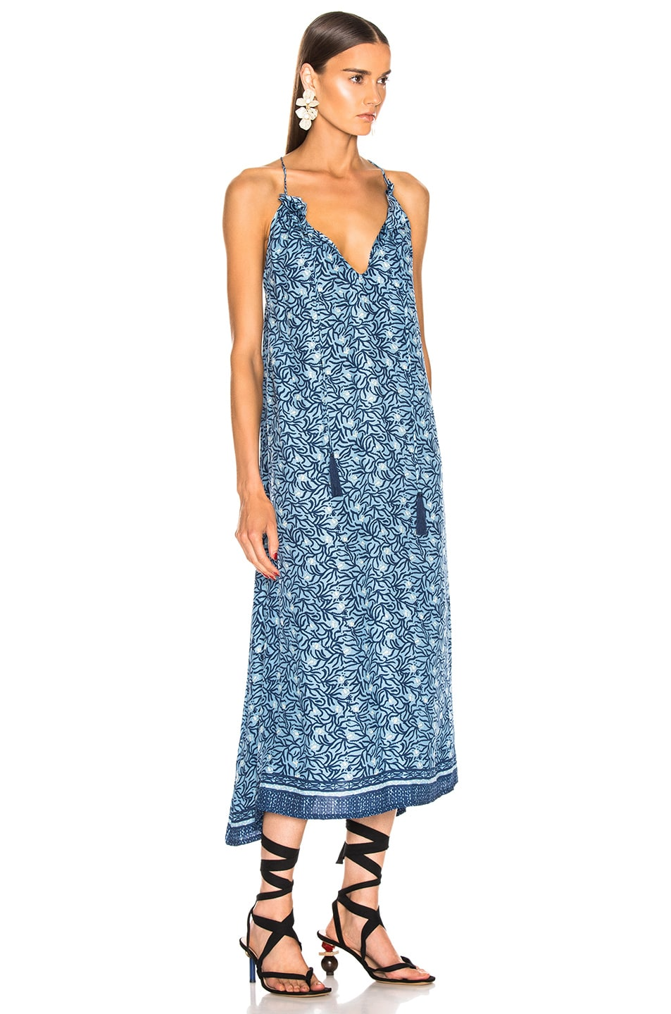 Image 2 of Natalie Martin Marlien Maxi in Blue Coral