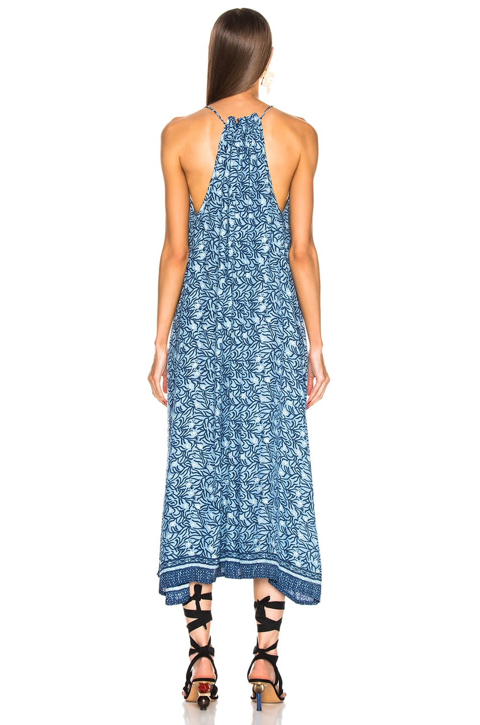 Image 3 of Natalie Martin Marlien Maxi in Blue Coral