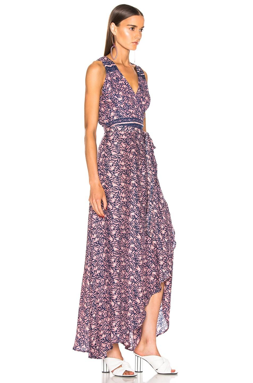 Image 2 of Natalie Martin Danika Sleeveless Dress in Rose Coral