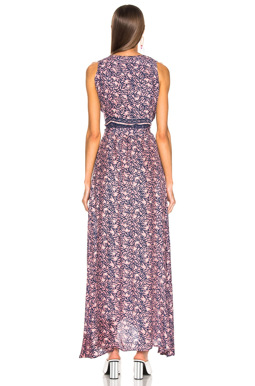 Image 3 of Natalie Martin Danika Sleeveless Dress in Rose Coral