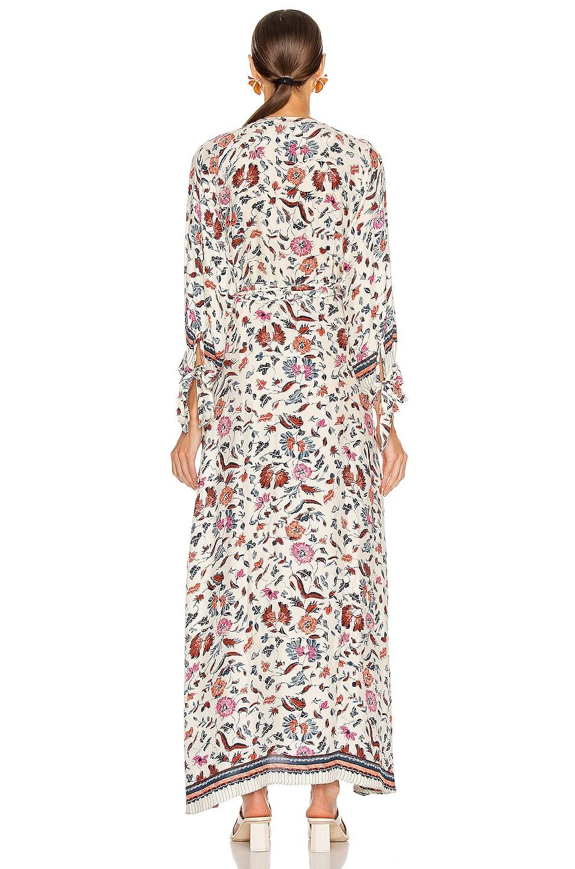 Image 3 of Natalie Martin Danika Long Sleeve Dress in Wildflower Pearl