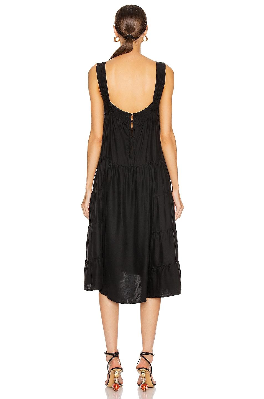 Image 3 of Natalie Martin Jasmine Dress in Black