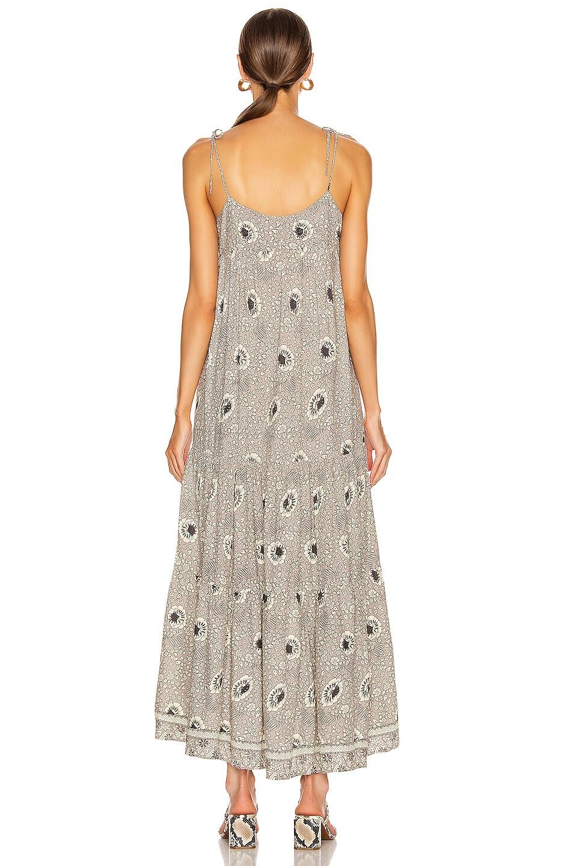 Image 3 of Natalie Martin Melanie Dress in Vintage Flowers Silver
