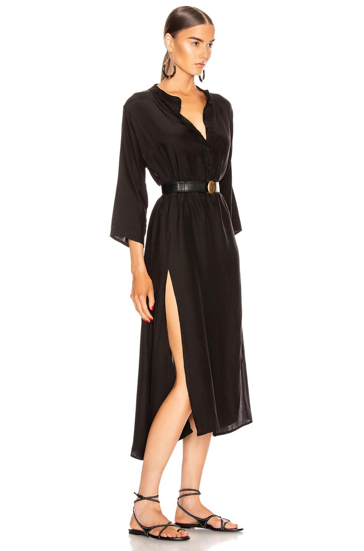 Image 2 of Natalie Martin Isobel Dress in Black Silk