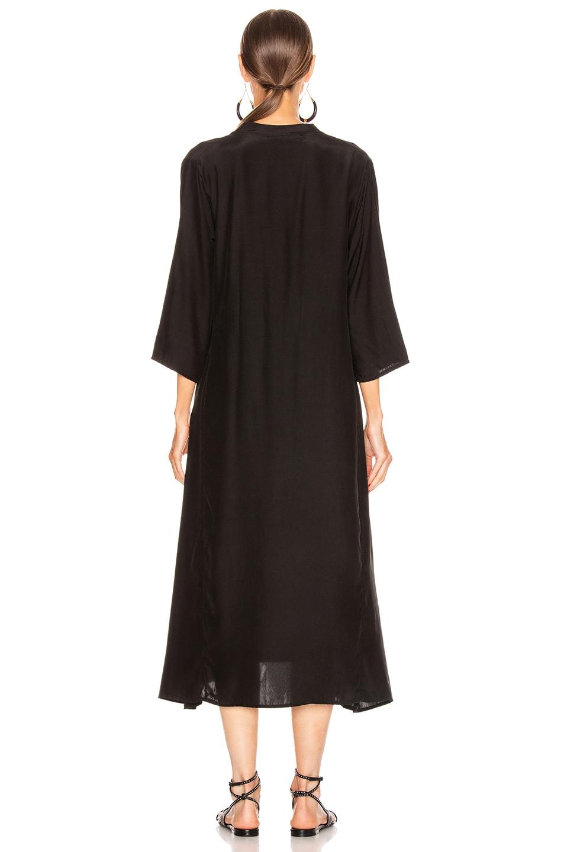 Image 3 of Natalie Martin Isobel Dress in Black Silk
