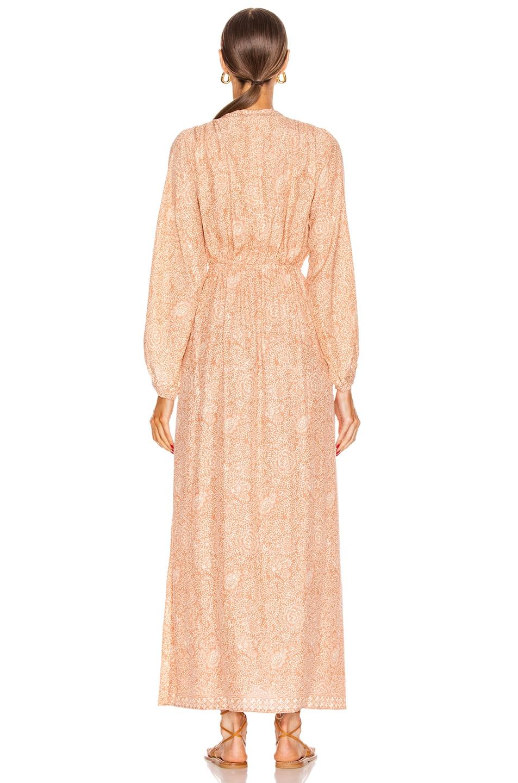 Image 3 of Natalie Martin Nico Long Sleeve Maxi in Shangri-La Dune