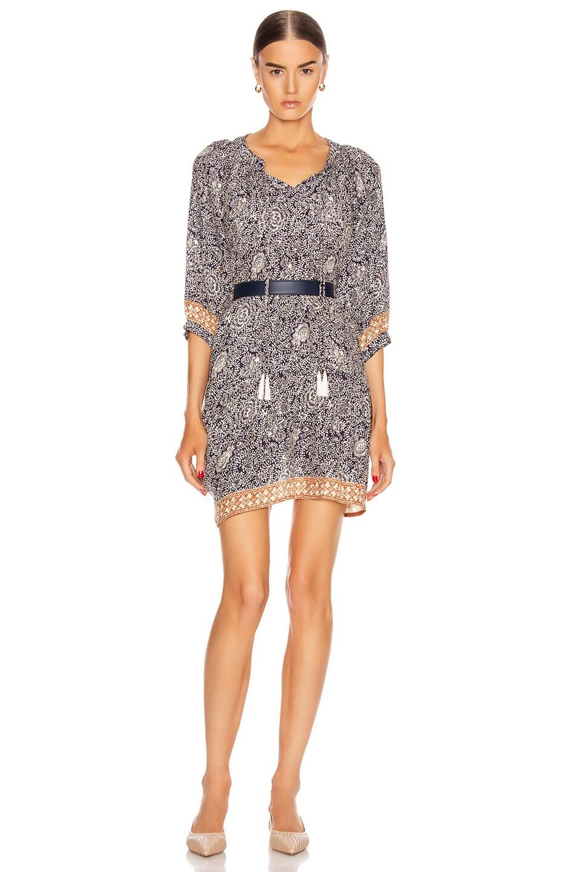 Image 1 of Natalie Martin Stevie Dress in Shangri-La Cortez