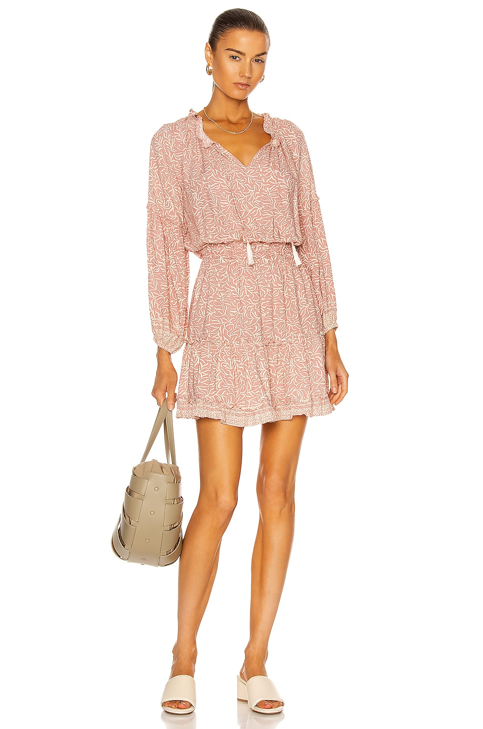 Image 1 of Natalie Martin Maggie Dress in Coral Blush