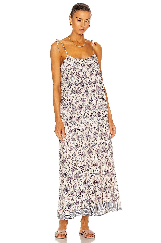 Image 1 of Natalie Martin Melanie Dress in Cyprus Print Lilac