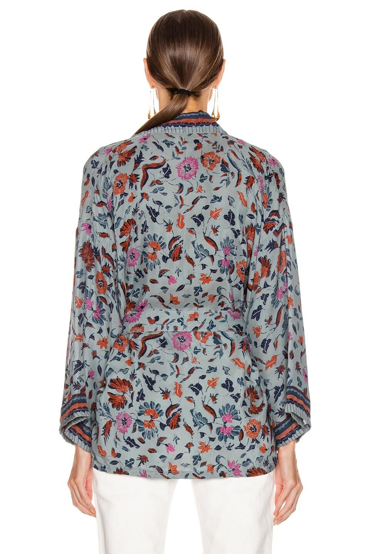 Image 3 of Natalie Martin Saylor Kimono Top in Wildflower Slate