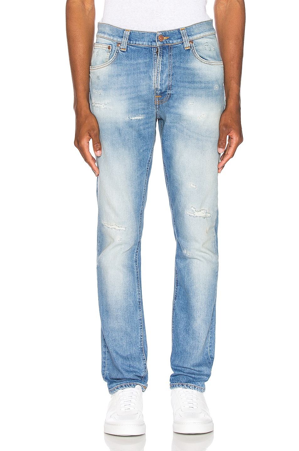 Image 1 of Nudie Jeans Lean Dean in Broken Summer