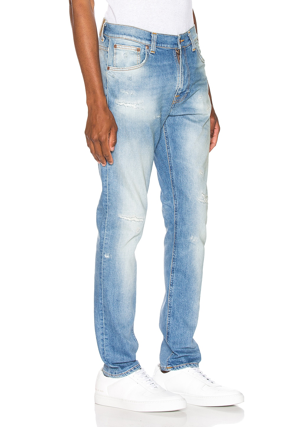 Image 2 of Nudie Jeans Lean Dean in Broken Summer