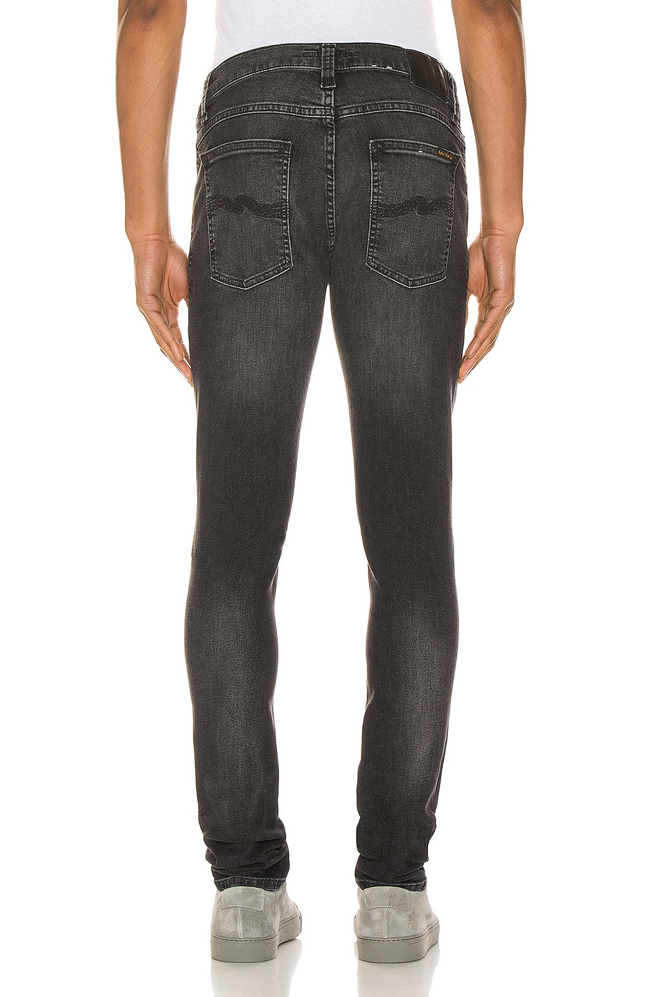 Image 3 of Nudie Jeans Tight Terry in Black Treats