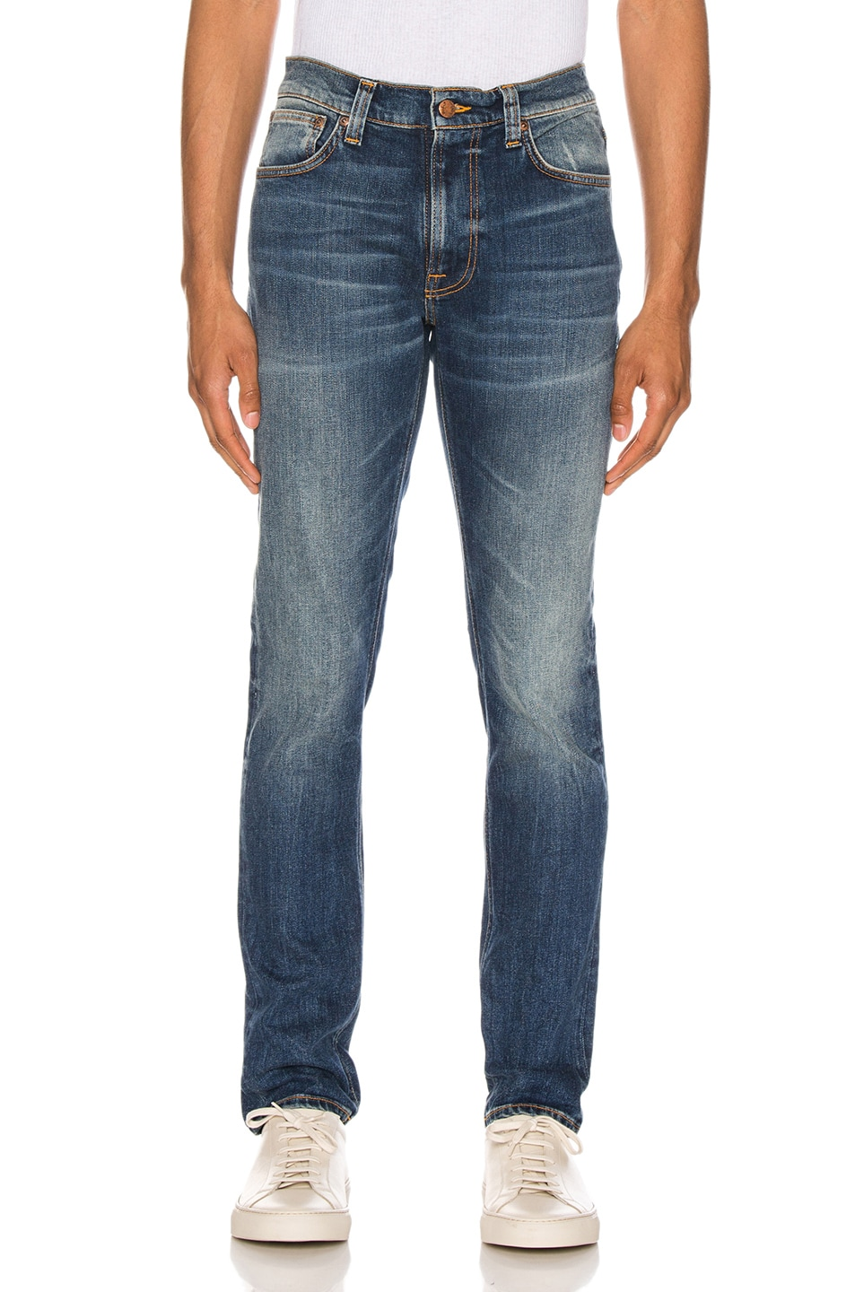 Image 1 of Nudie Jeans Lean Dean in Indigo Shades