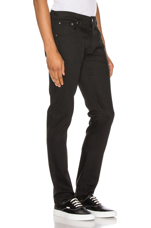 Image 2 of Nudie Jeans Grim Tim in Ever Black