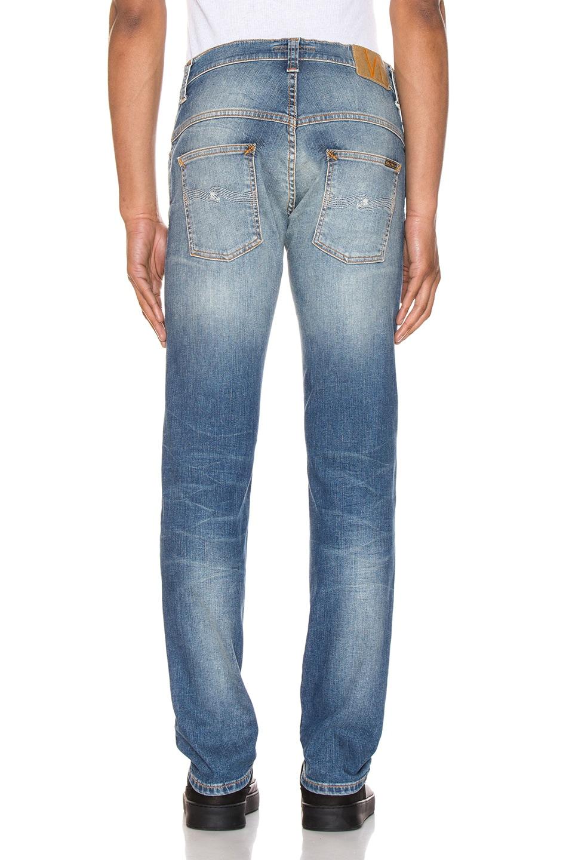 Image 3 of Nudie Jeans Thin Finn in Authentic Repair