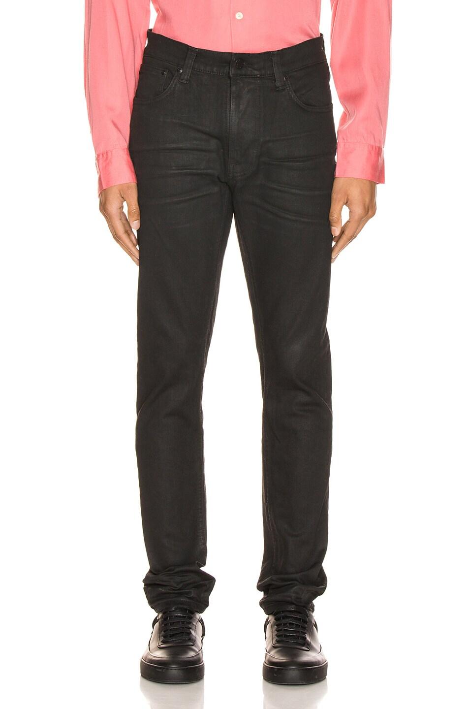 Image 1 of Nudie Jeans Lean Dean in Black Minded