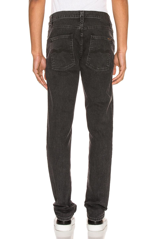 Image 3 of Nudie Jeans Lean Dean in Grey Stardust