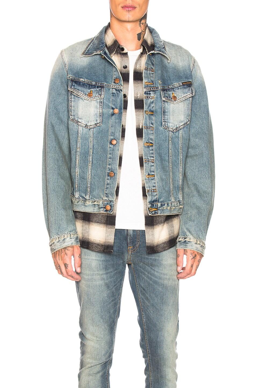 Image 1 of Nudie Jeans Billy in Shimmering Indigo