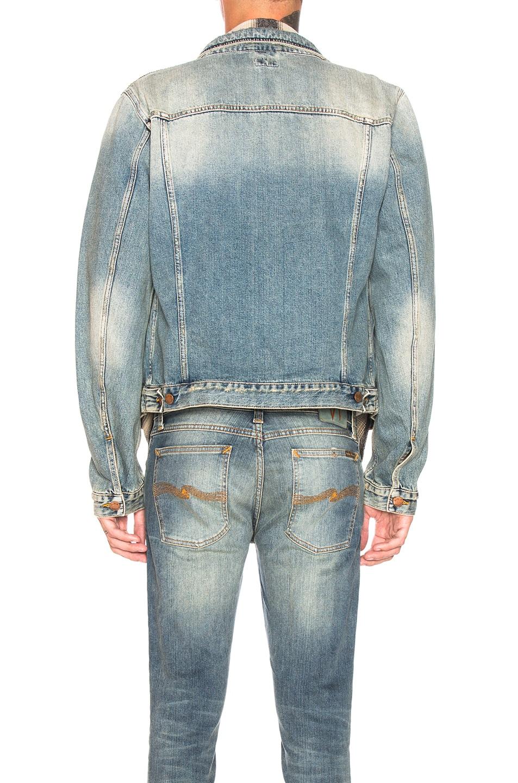 Image 3 of Nudie Jeans Billy in Shimmering Indigo