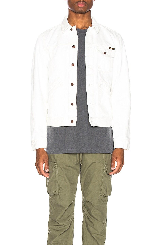 Image 1 of Nudie Jeans Tommy Jean Jacket in Dry Bone