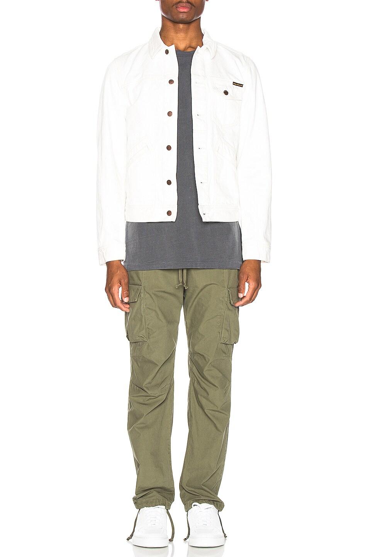 Image 5 of Nudie Jeans Tommy Jean Jacket in Dry Bone