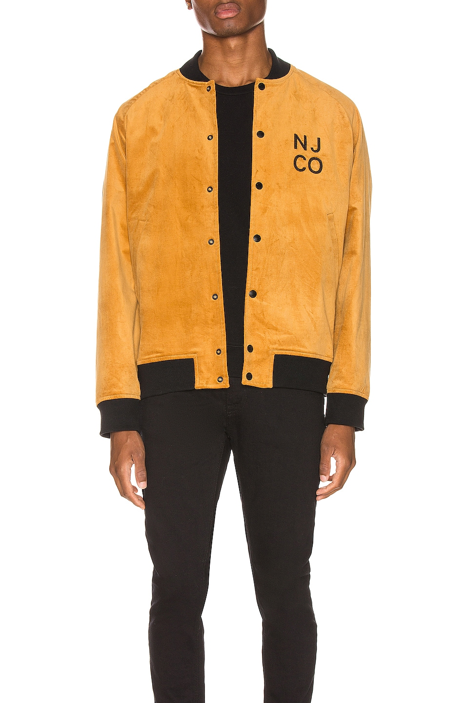 Nudie Jeans Mark Velvet Bomber Jacket