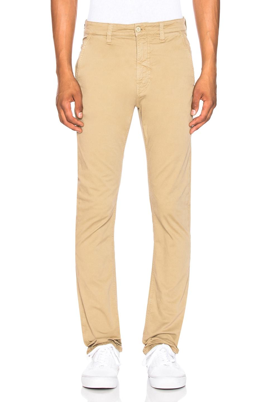 Image 1 of Nudie Jeans Slim Adam Pant in Beige