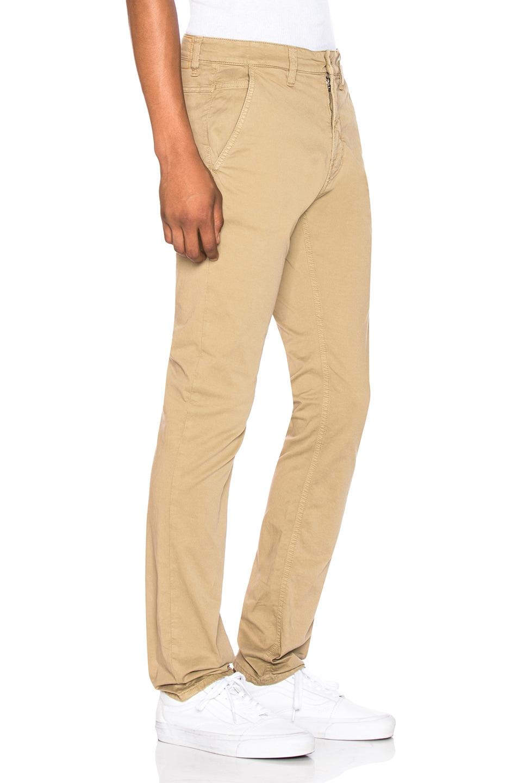 Image 2 of Nudie Jeans Slim Adam Pant in Beige
