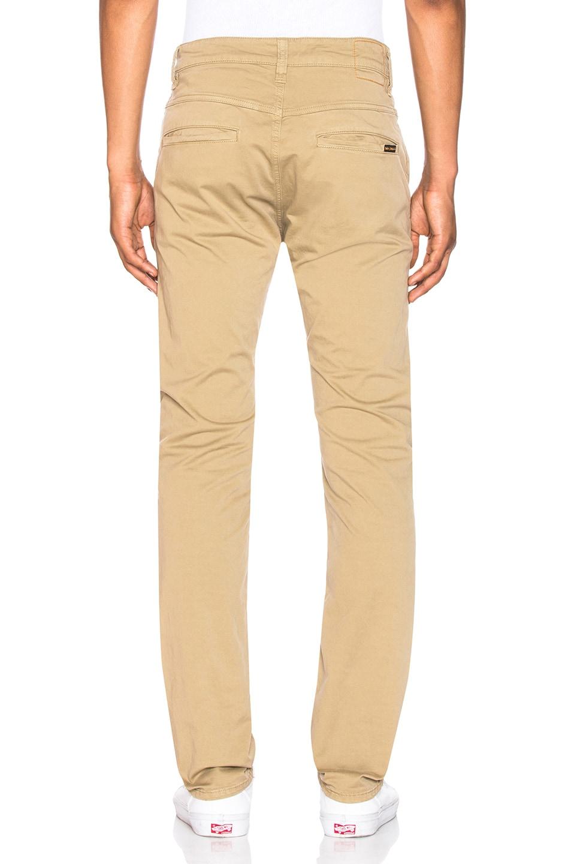 Image 3 of Nudie Jeans Slim Adam Pant in Beige