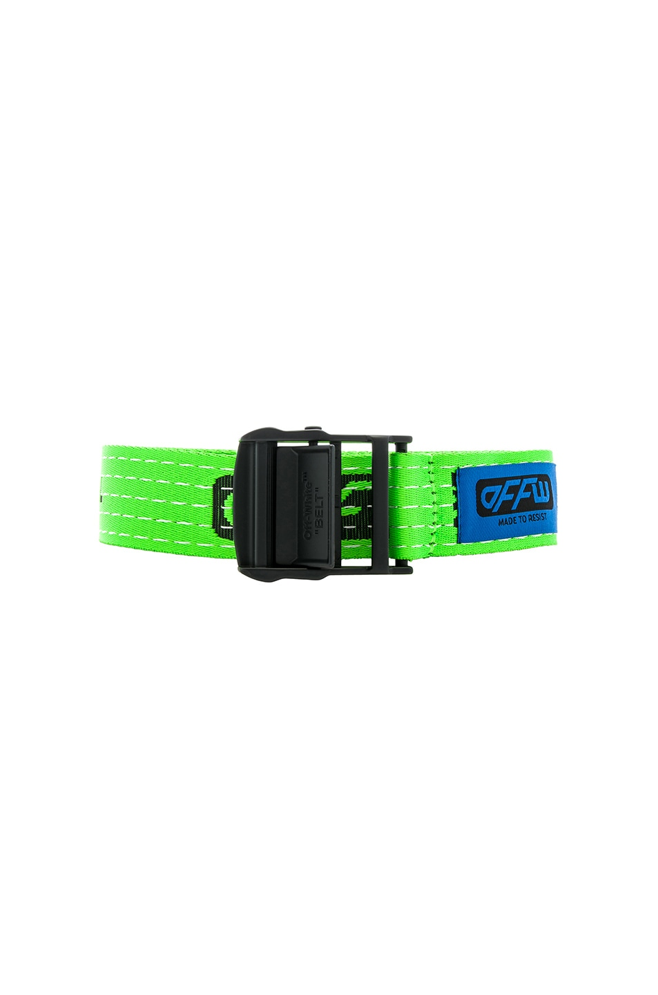 Image 1 of OFF-WHITE Industrial Belt in Light Green